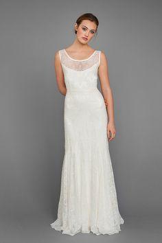 """Siren"" by Elizabeth Dye: 2013 Bridal Collection."