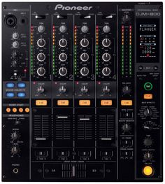 My first Pro Mixer - AWESOME - DJM 800