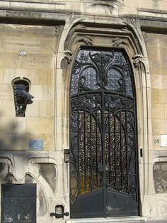 Maison Bergeret à Nancy - Ferroneries - Louis Majorelle