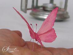 Wafer paper Butterfly  - Cake by Petya Shmarova