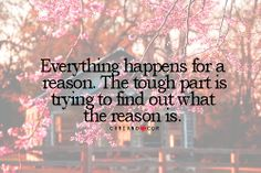 Everything happens...