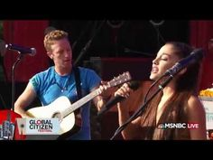 Ariana Grande Is An Unexpected Guest During Coldplay's Global Citizen Festival Performance  - http://oceanup.com/2015/09/27/ariana-grande-is-an-unexpected-guest-during-coldplays-global-citizen-festival-performance/