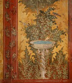 """Oplontis - serie di ritrovamenti archeologici appartenenti all'antica città o zona suburbana pompeiana, di Oplontis, seppellita insieme a Pompei, Ercolano e Stabiae dopo l'eruzione del Vesuvio del 79 d.C.: oggi l'area archeologica è situata nel centro della moderna città di Torre Annunziata e comprende una villa d'otium chiamata """"di Poppea""""   #TuscanyAgriturismoGiratola"""