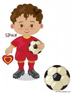 chile national jersey cartoon soccer player kids clip art rh pinterest com soccer player clipart black and white soccer player clipart