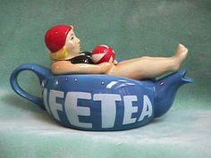 LIFE TEA TEAPOT - how funny