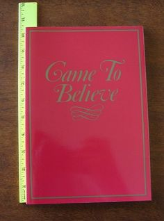 TO CAME BELIEVE