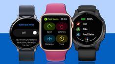 Best waterproof smartwatch Ranking the top watches you can swim with Application Samsung, Apple Watch, Fitbit, Garmin Forerunner 35, Watch Deals, Apple Activities, Best Smart Watches, Best Swimming, Android Watch