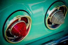 Classic Chevrolet Impala Cone Tail Lights  by RetroRoadsidePhoto