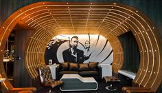 Seven Hotel, Paris These ultrachic rooms are brilliantly designed and feature fiber-optic lighting for a visually entertaining experience.  Stay in suite 007, a guest favorite, which is James Bond themed and is guaranteed to provide you with a funky and modern atmosphere. A stay at Seven Hotel places you in the heart of Paris, minutes from Ecole normale superieure and close to Notre Dame Cathedral.   https://ther8.com/paris-hotel-seven