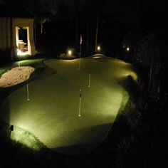 by Focus Industries Backyard Sports, Lamp Socket, Extruded Aluminum, Outdoor Landscaping, Landscape Lighting, Hanging Lights, Paths, Golf Courses, Modern Design