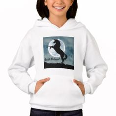Shop Just Believe! Kids Hoodie created by Christiangiftsca. Unicorn Hoodie, Just Believe, Hoodies, Sweatshirts, Kids, Shopping, Products, Fashion, Young Children