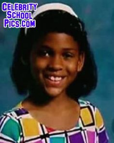 "Meagan Good - Celebrity School Pic\\Nice to see that we ALL go through an ""awkward phase"". i would never have guessed in a million years that his is Meagan Good!! She was an adorable little girl, but --WOW---how much she grew into a beautiful woman!"