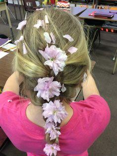Rapunzel-style braid