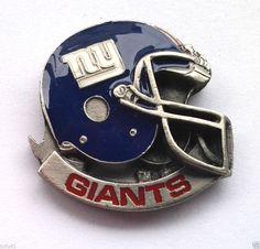 *** NEW YORK GIANTS HELMET *** Novelty NFL Hat Pin P52010 EE
