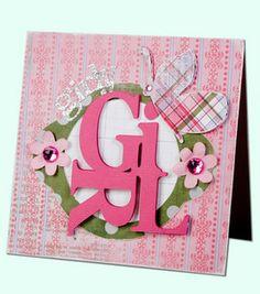 Girly Girl Card: Card Making: Scrapbooking Projects: Shop   Joann.com