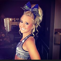 I hated sports until my mom enrolled me in cheer school. Now I couldn't be happier; cute uniforms, makeup, fixing my long hair into a pretty style, now that's worth cheering about!