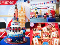 London Party Theme