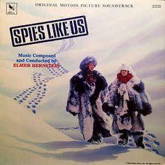 Elmer Bernstein - Spies Like Us (Original Motion Picture Soundtrack): buy LP, Album at Discogs