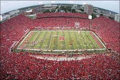 4th ranked football stadium out of 25 to visit before you die . . . . Lincoln, NE