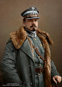Józef Haller von Hallenburg (August 13, 1873 – June 4, 1960) was a Lieutenant General of the Polish Army, a legionary in the Polish Legions, harcmistrz (the highest Scouting instructor rank in Poland), the President of the Polish Scouting and Guiding Association (ZHP), and a political and social activist. He was the cousin of Stanisław Haller de Hallenburg. When the Great War broke out it was a sign to mobilize Polish patriotic paramilitary organizations.