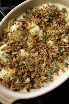 Budín de coliflor – Mi Diario de Cocina