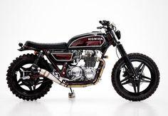 BRAT Tracker | Honda CB650 GIGANTE by Herencia Custome Garage motorbike, custom, street tracker, vintage motorbike