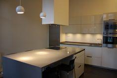 SANTOS kitchen   White gloss Minos in Ourense by architect Daniel López Ben