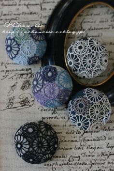 Embroidery Patterns, Hand Embroidery, Dorset Buttons, Tatting Lace, Suncatchers, Needlework, Badge, Creations, Cross Stitch