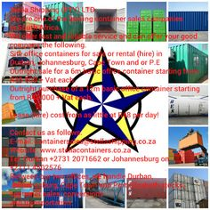 Stella Containers - Container sale, rental, transportation, design and conversion of shipping containers. Shipping Containers For Sale, Site Office, Transportation, Google, Passionate People, Amazing Things, Design