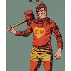"""""""El Chapulin Colorado. A superhero for Mexicans around the world."""""""