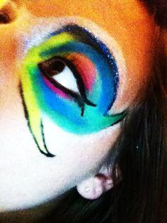 Makeup is Art- Fish eye
