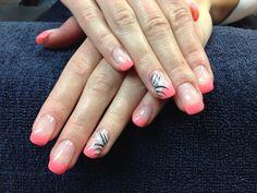 Katie's nails. Gel nail art.