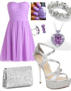 Clothes purple outfit dressy formal (just add a casual sweater to dress down)