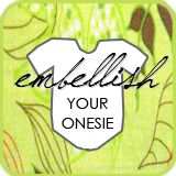 28 ways to embellish your plain white onesie.  Just click on one of  the pictures below.  Enjoy!!