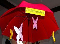 Geldgeschenk Regenschirm