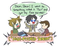 Words cannot describe how much I love this fan art. #Supernatural
