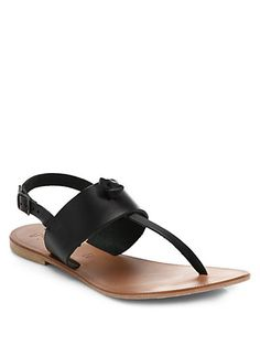 Joie - Bastia Leather Thong Sandals