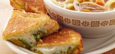 Grilled Cheese And Pesto