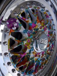BBS Wheels - on vw polo in white! Rims And Tires, Rims For Cars, Custom Wheels, Custom Cars, Auto Volkswagen, Volkswagen Transporter, Jetta A2, Bbs Wheels, Sticker Bomb