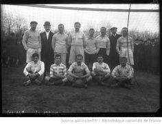 Association équipe de football du Racing club de France à Vincennes, février 1908