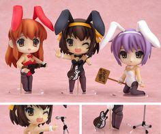 Suzumiya Haruhi (Bunny Girl Set) Nendoroid [014] - NendoDB.com