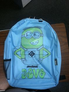Minion Back Pack hand made from my Hubby... Let me know if you d6d178b212fe1