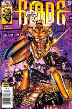 Blade - The Vampire Hunter Vol. 2 # 5 by Bart Sears