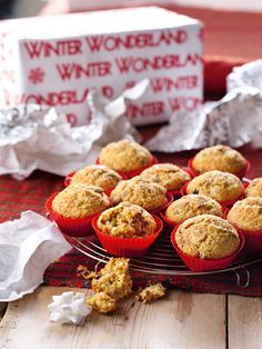 CHRISTMAS MORNING MUFFINS - nigella lawson - i love love love these and they fill the house with beautiful smell of spices on xmas morning Christmas Breakfast, Christmas Morning, Xmas, Christmas Eve, Nigella Lawson Christmas, Streusel Muffins, Cinnamon Muffins, Cranberry Muffins, Pear Muffins