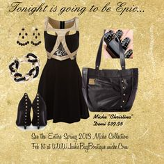 """""""Miche Makes Every Night EPIC...."""" by matlgal on Polyvore"""