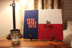 University of Houston Texas College Flag by TheCoatedCanvas, $35.00