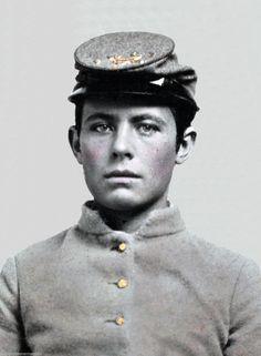 Very Young Confederate Soldier Civil War Artillery Cap   eBay