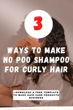How To Make No Poo Shampoo For Curly Hair