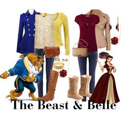 The Beast & Belle by saeabryony on Polyvore featuring polyvore, fashion, style, White Stuff, Phase Eight, Ichi, Moschino Cheap & Chic, H&M, Joe Browns and Steve Madden