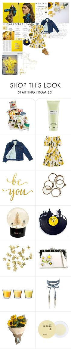 """""""Don't Believe Me Just Watch"""" by chrissykinz ❤ liked on Polyvore featuring Pulchrum!, THE EDITOR, Chronicle Books, Carven, Dolce&Gabbana, WALL, Chanel, H&M, Fujifilm and Chan Luu"""
